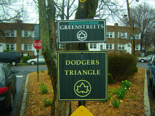 Dodgers Triangle( Staten Island)