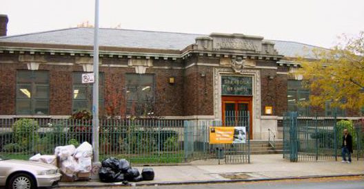 Saratoga Library (Brooklyn, NY)