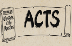 The Animated Bible: Book Of Acts – Read Series (Video)
