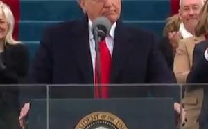 Trump Inauguration Speech (Video)