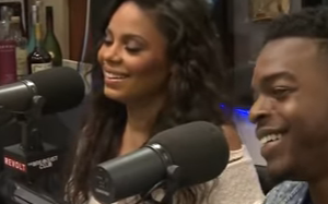Sanaa Lathan & Stephan James On The Breakfast Club (Video)