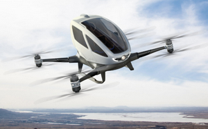 Uber's Electric Flying Taxis (Video)